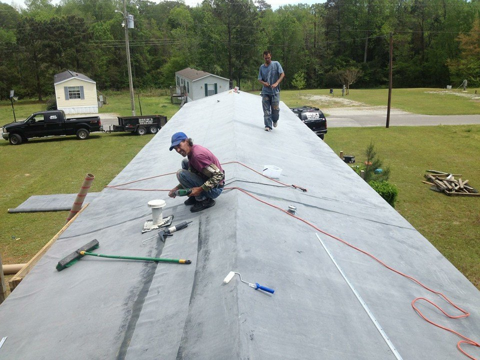Rubber Roofing For Your Mobile Home Not Everyone Is